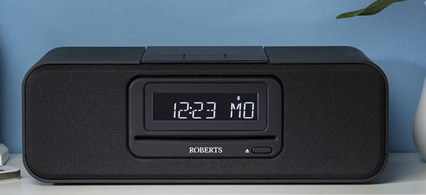 roberts blutune60 dab dab fm cd digital clock radio potters home digital e store. Black Bedroom Furniture Sets. Home Design Ideas