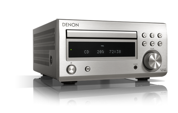 Denon - RCD-M41DAB - Micro HiFi CD Receiver with Bluetooth and FM/DAB/DAB+ Tuner