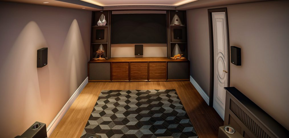 Designing a cinema room