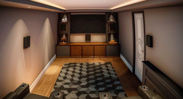 Designing a cinema room